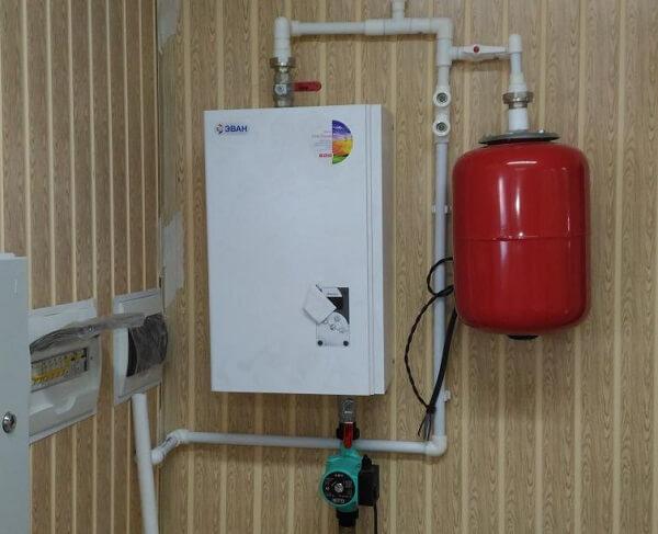 Как подключить электрический котел к системе отопления