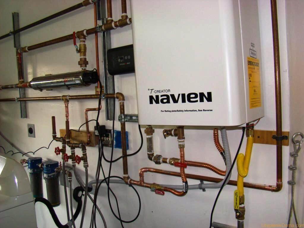 Стоит ли покупать газовый котел Navien Deluxe