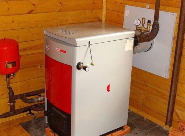 Монтаж газового котла в доме