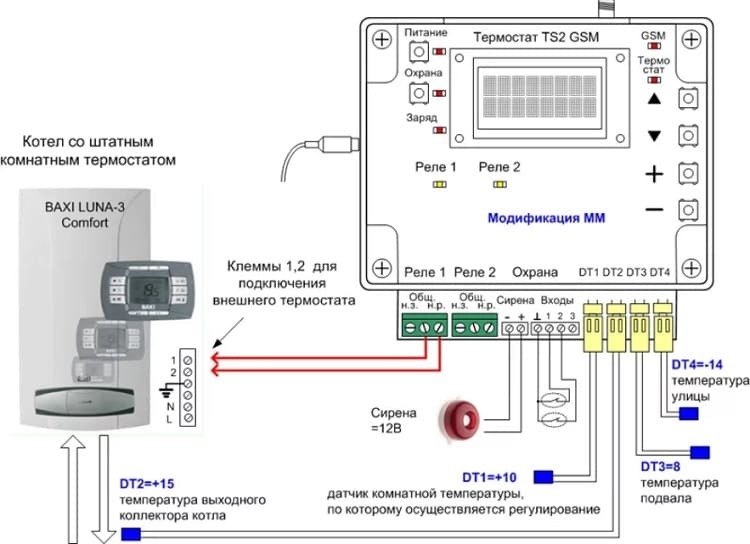 схема обвязки с электронным регулятором